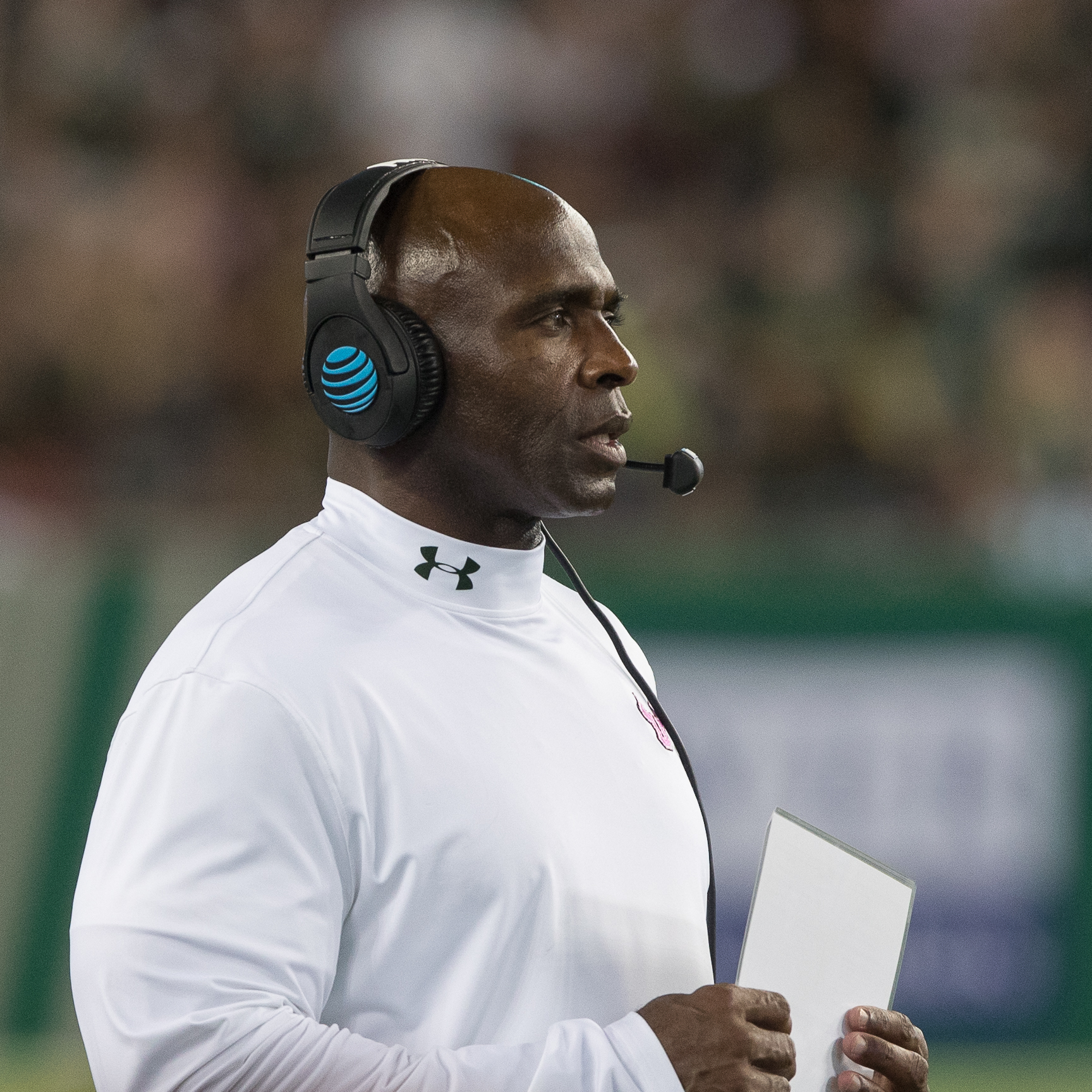 Charlie Strong'S team still looking for complete game../STEVEN MUNCIE