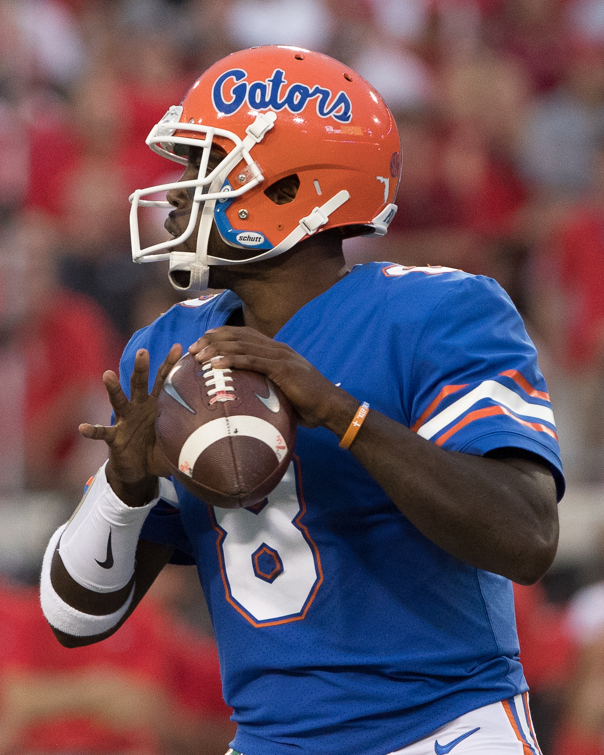 Malik Zaire was injured for Gators./STEVEN MUNCIE