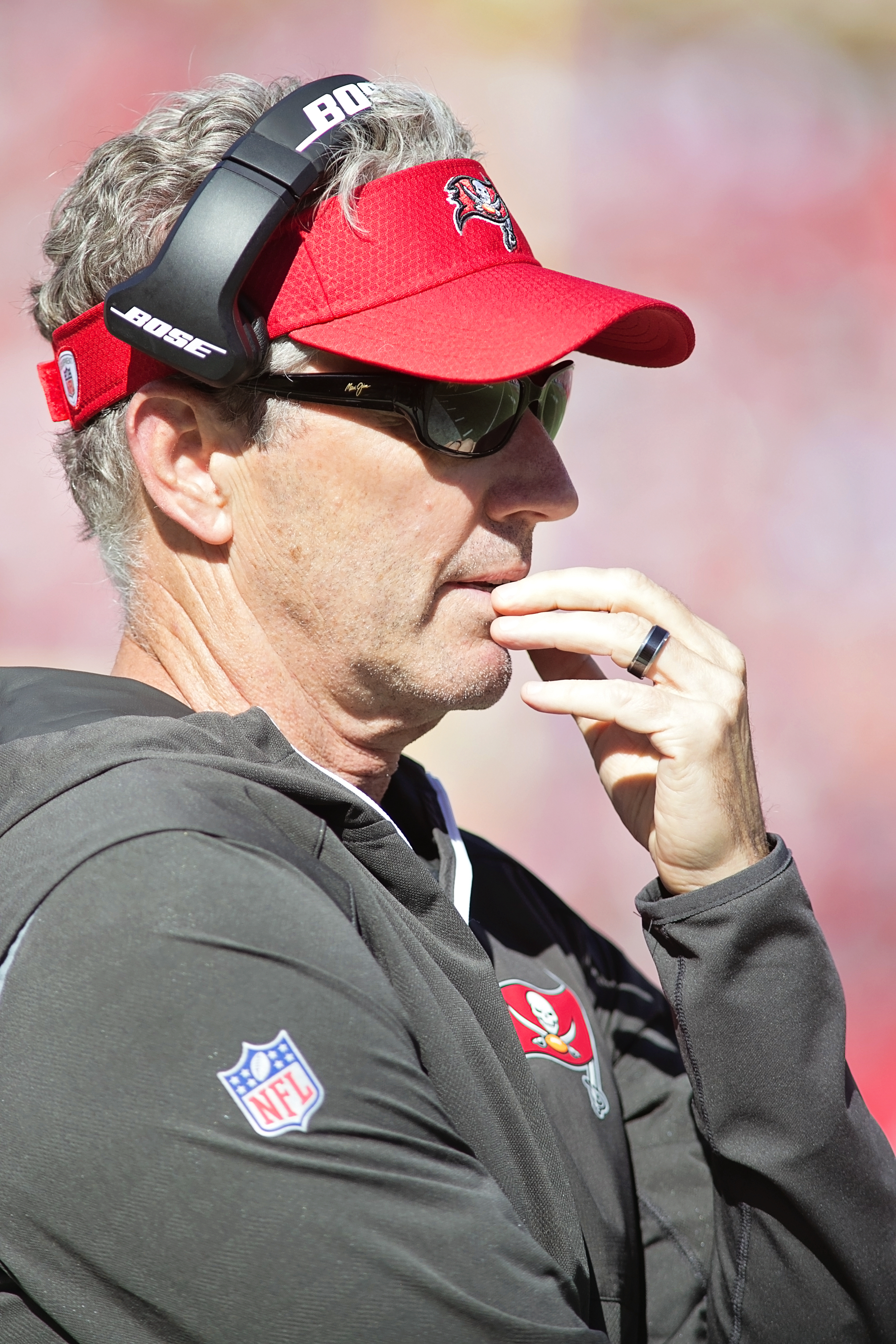 Dirk Koetter saw his team lose its sixth game of the year./CARMEN MANDATO