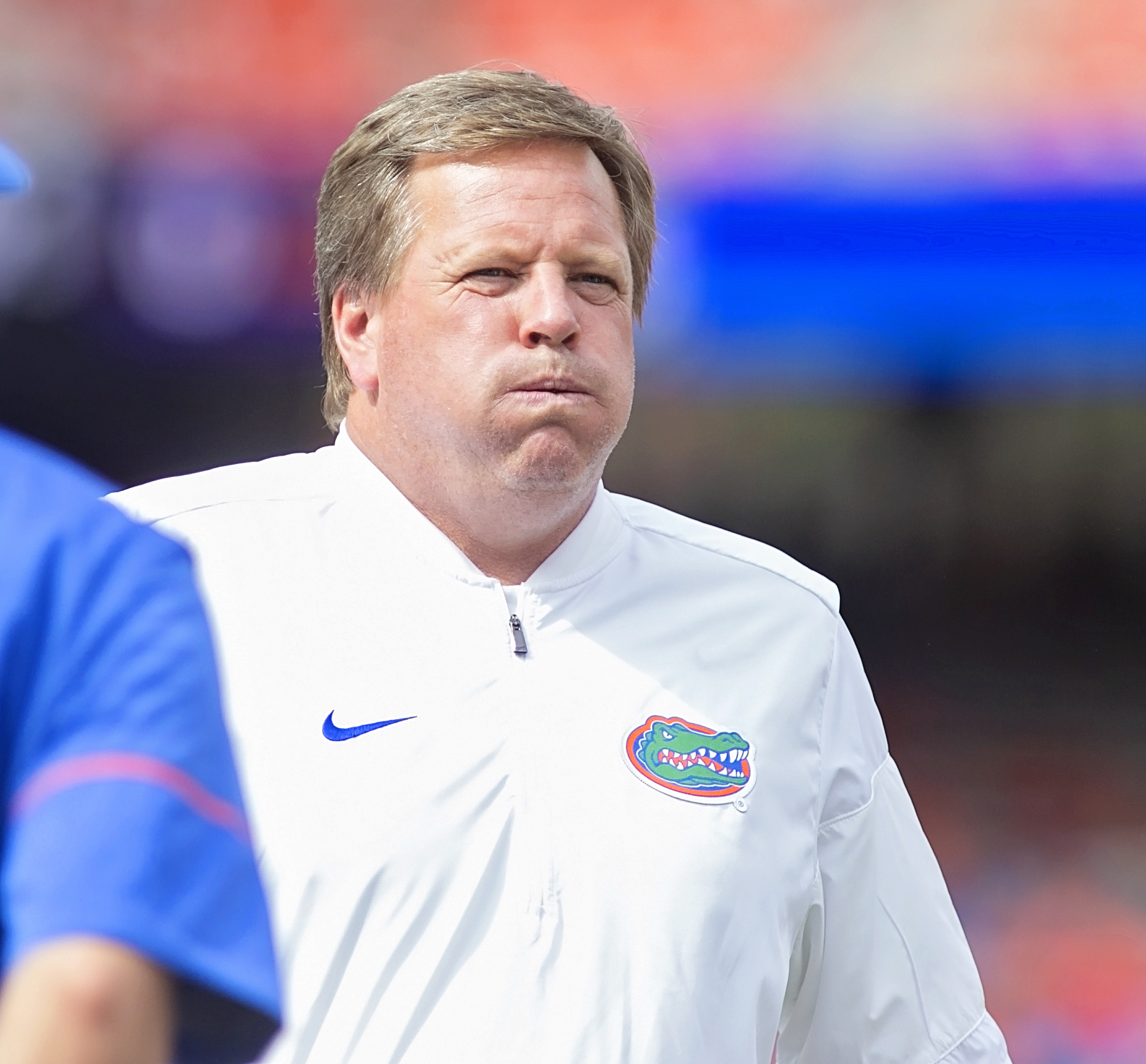 McElwain frUstrated after a narrow defeat./CARMEN MANDATO
