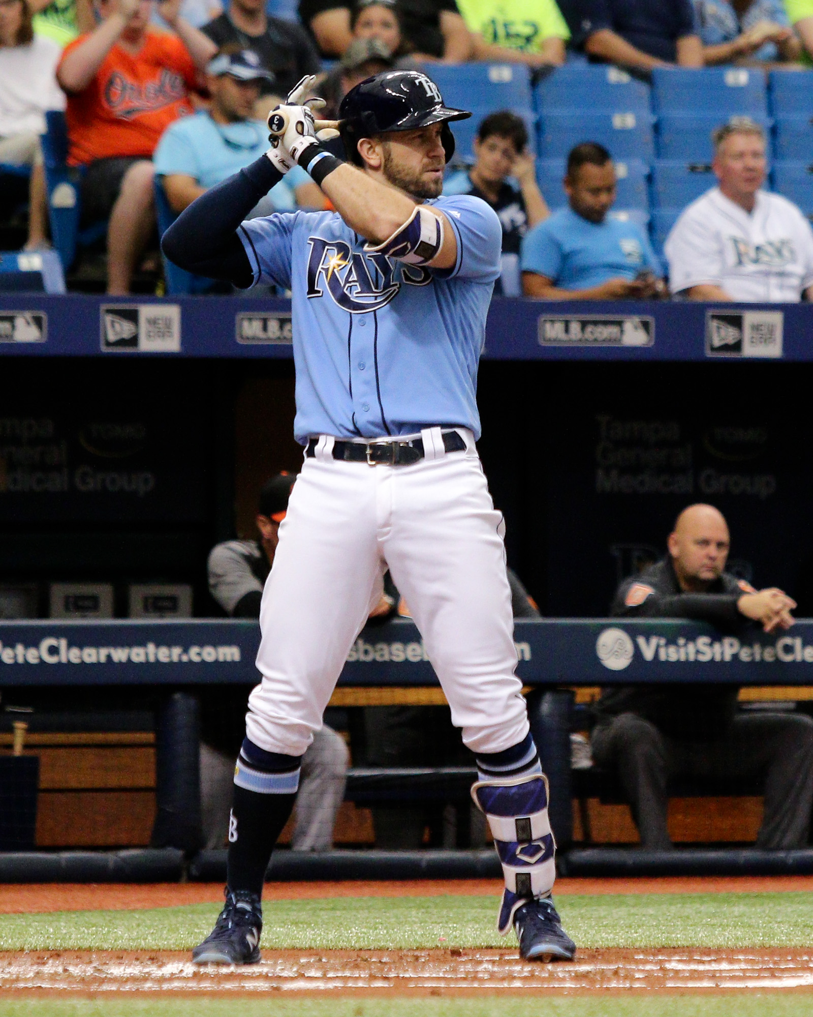Longoria was disappointed in the Rays' season./ANDREW J. KRAMER