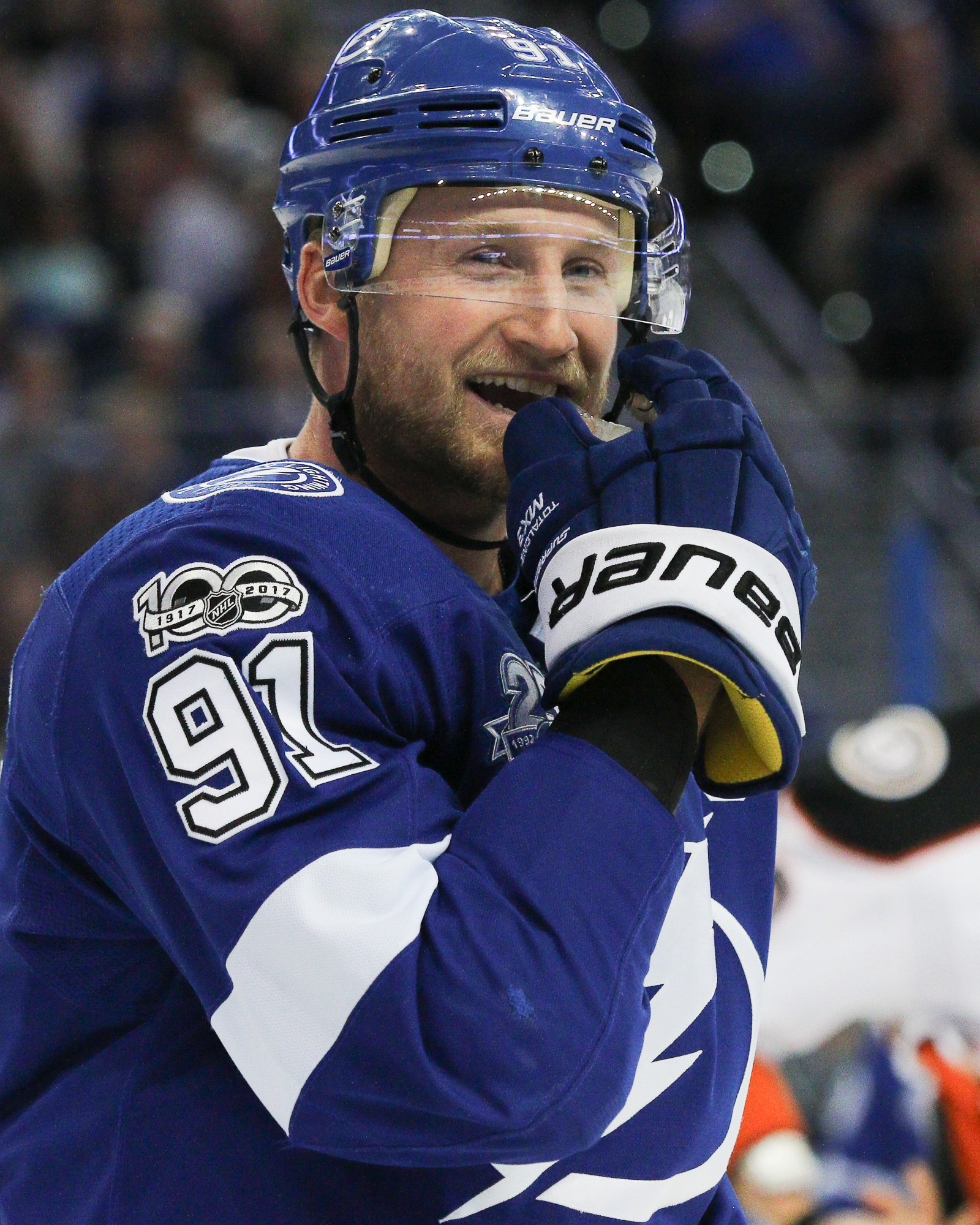 Stamkos scored a goal early for Bolts./ANDREW J. KRAMER