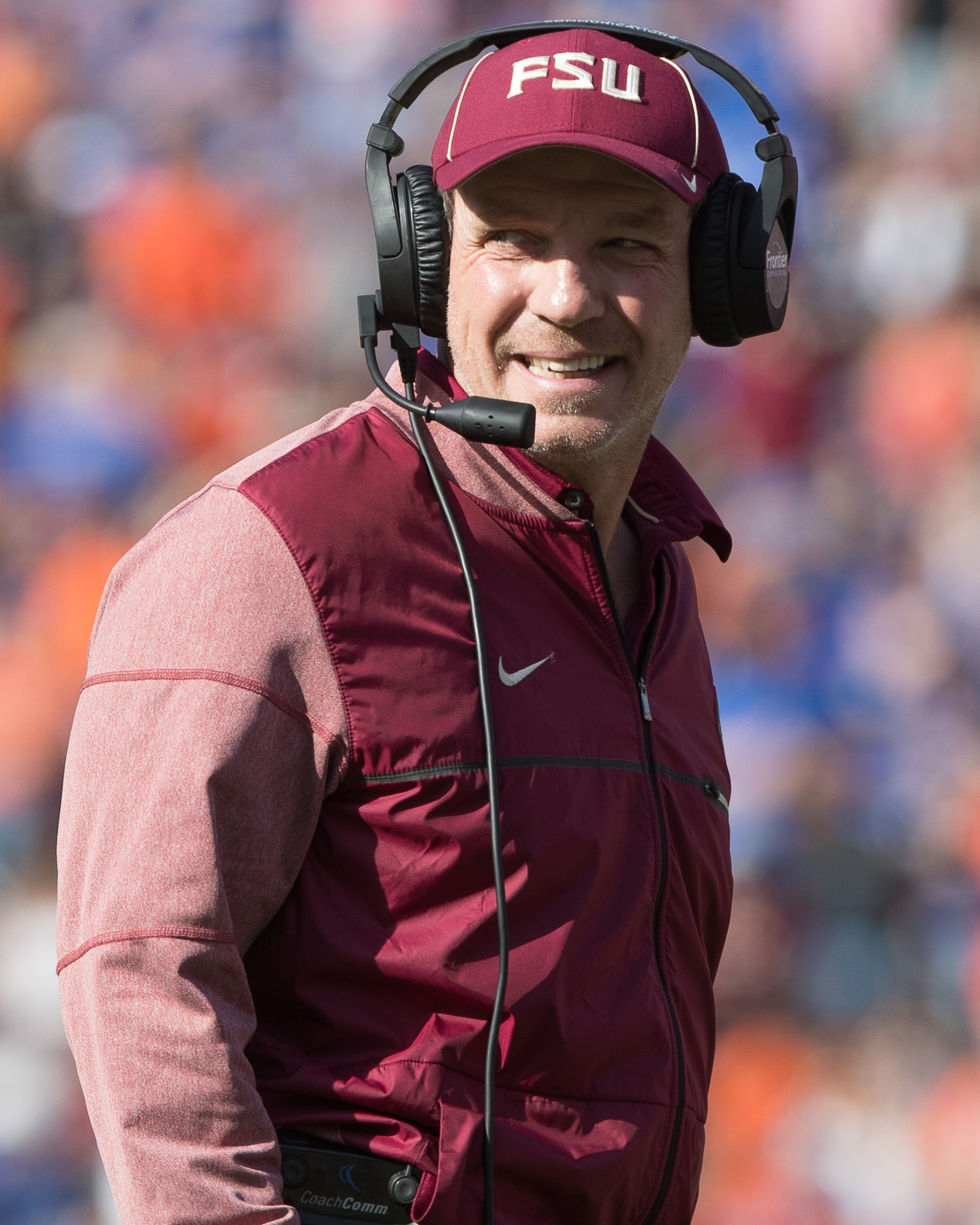 Florida State coach Jimbo Fisher wants one more win./STEVEN MUNCIE