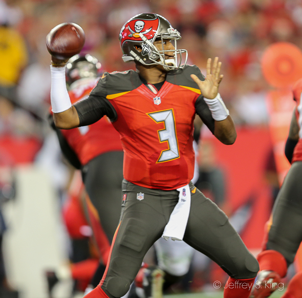 Winston had his best game of the season in defeat./JEFFREY S. KING