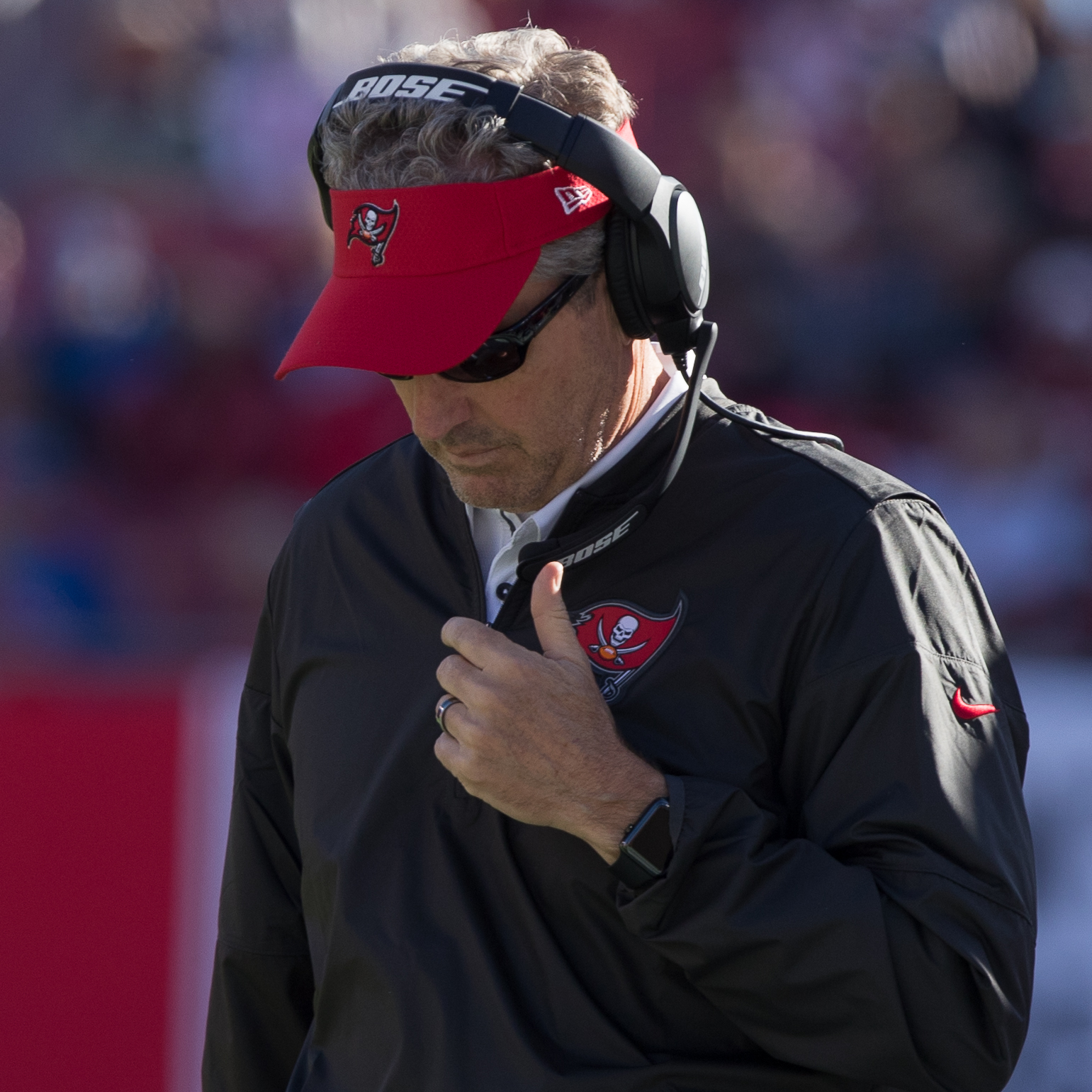 Dirk Koetter watched his team lose again./STEVEN MUNCIE