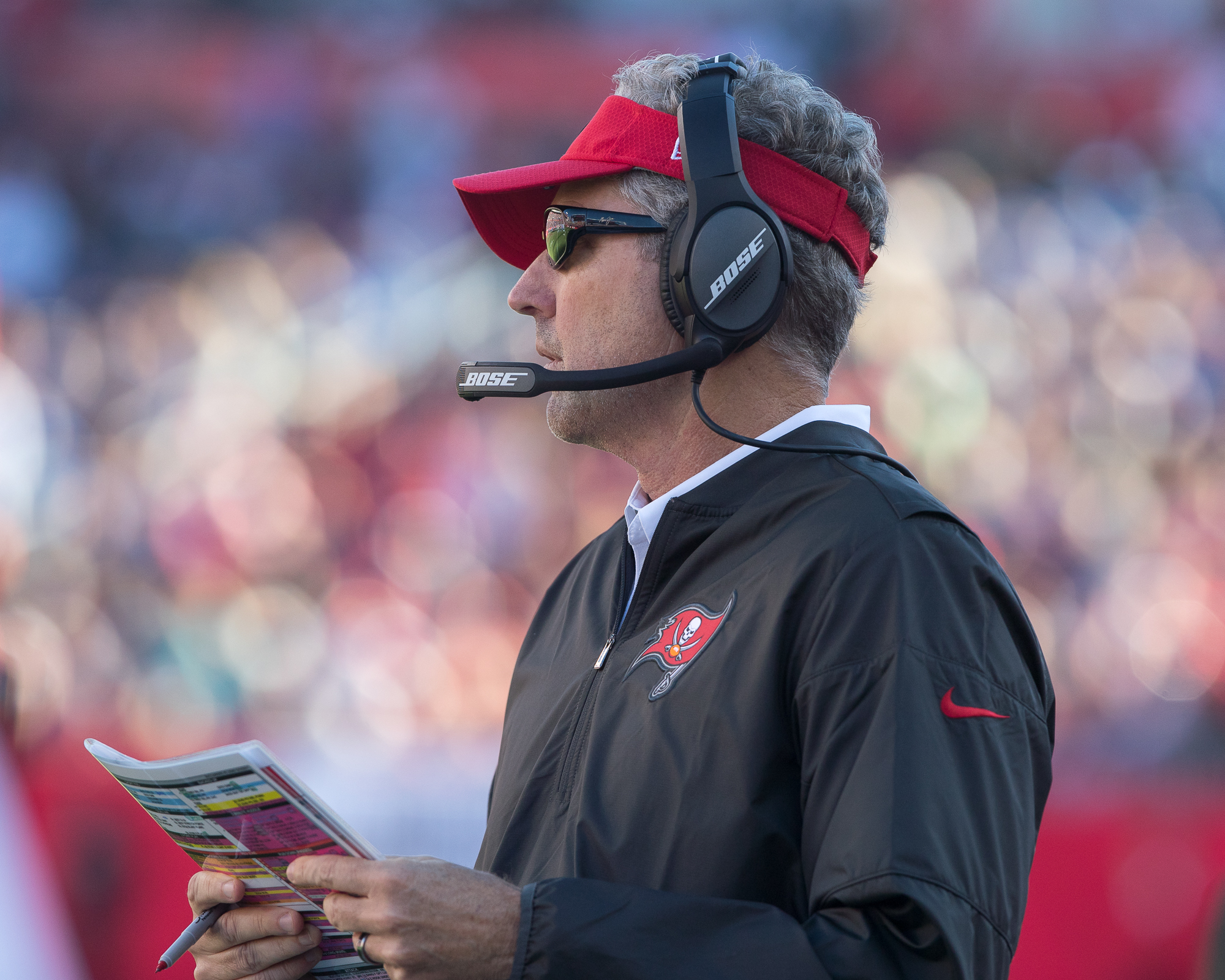 Dirk Koetter will have to upset someone for another win./STEVEN MUNCIE
