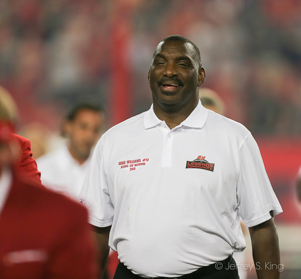 Williams among the best of the Bucs./JEFFREY S. KING