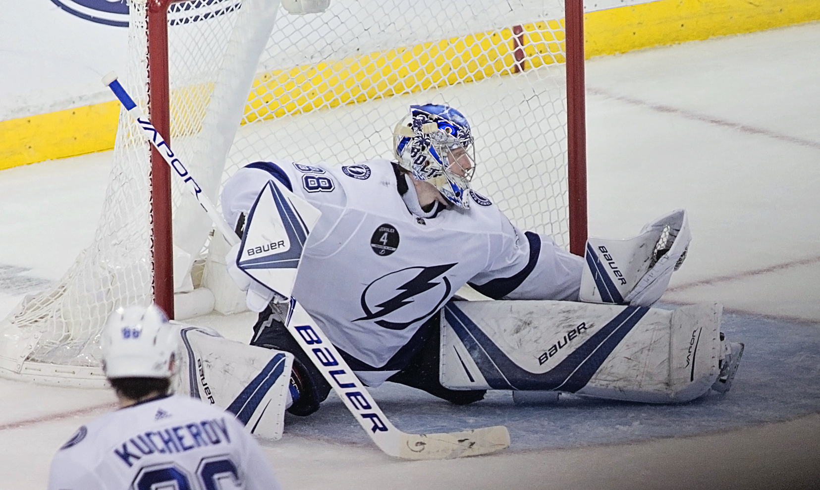 Vasilevskiy has won only two of his last seven starts./CARMEN MANDATO