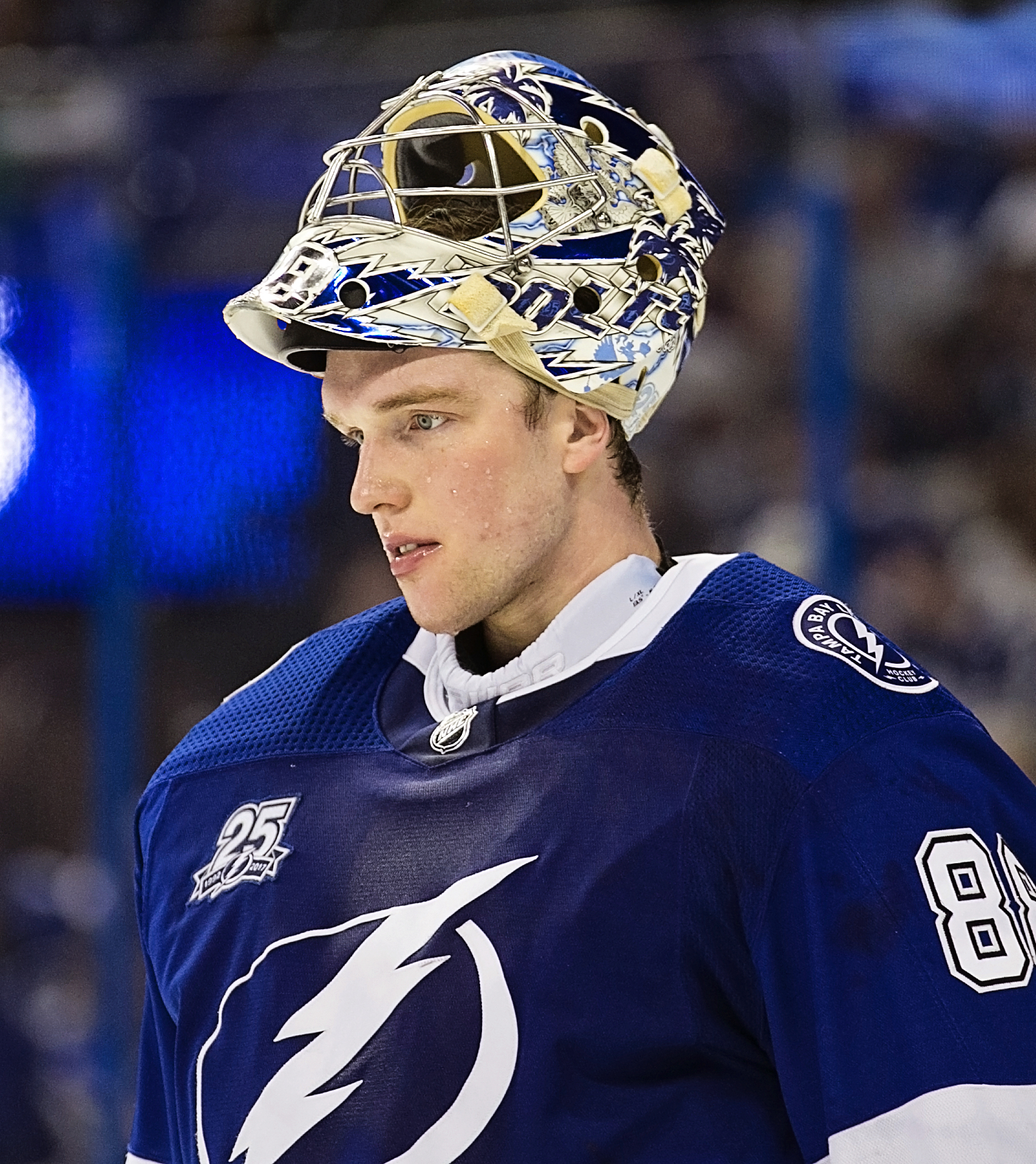 How can Vasilevskiy rest and still stay sharp?CARMEN MANDATO