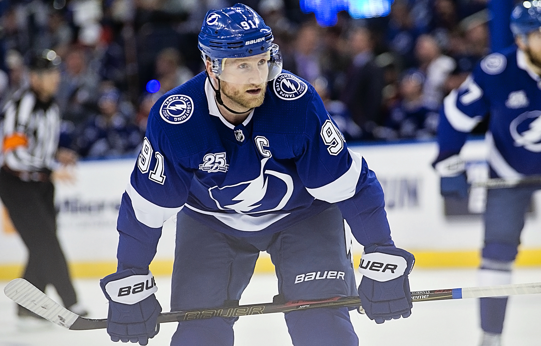 How effective will Stamkos be in playoffs?/CARMEN MANDATO
