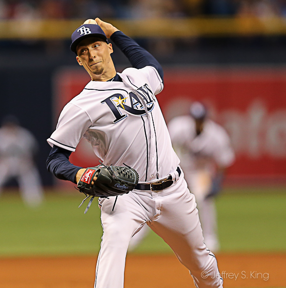 Snell couldn't last long against the Yankees./CARMEN MANDATO