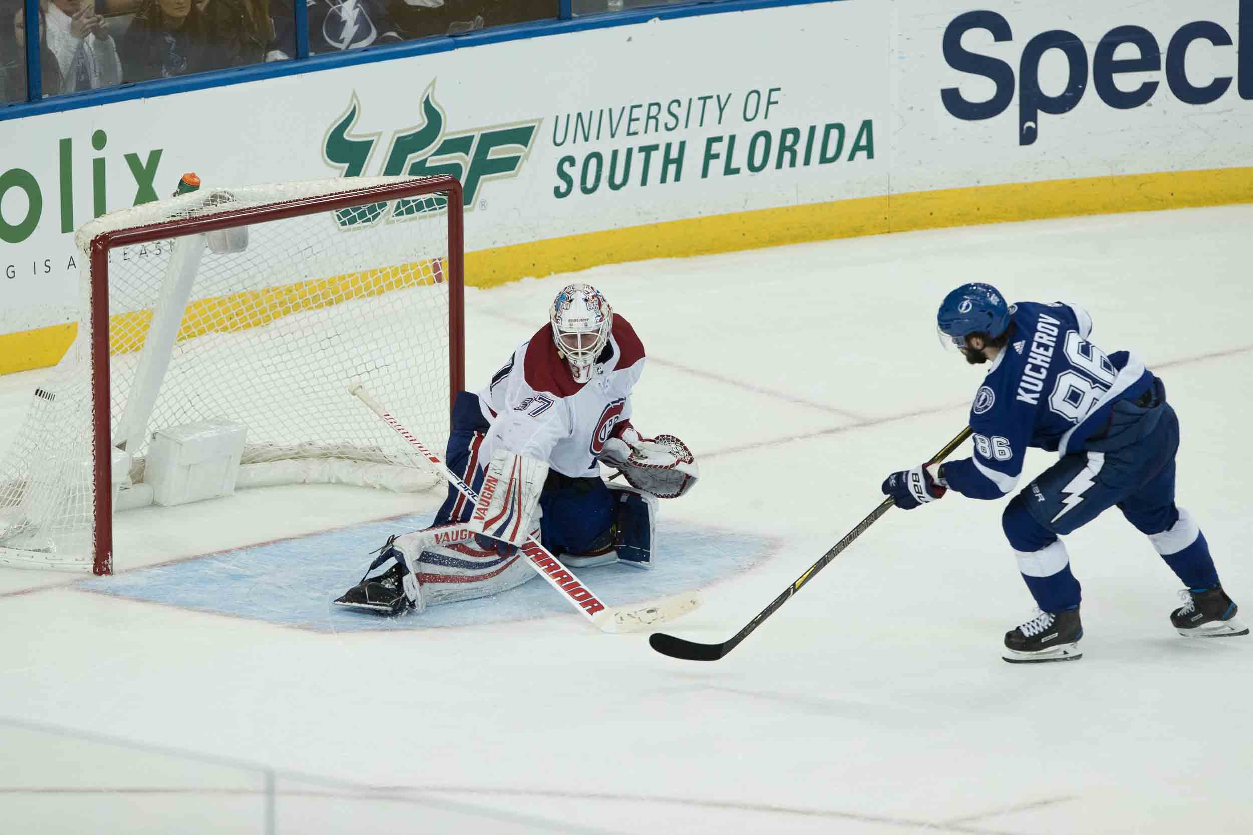 Nikita Kucherov scores in  the shootout./STEVEN MUNCIE