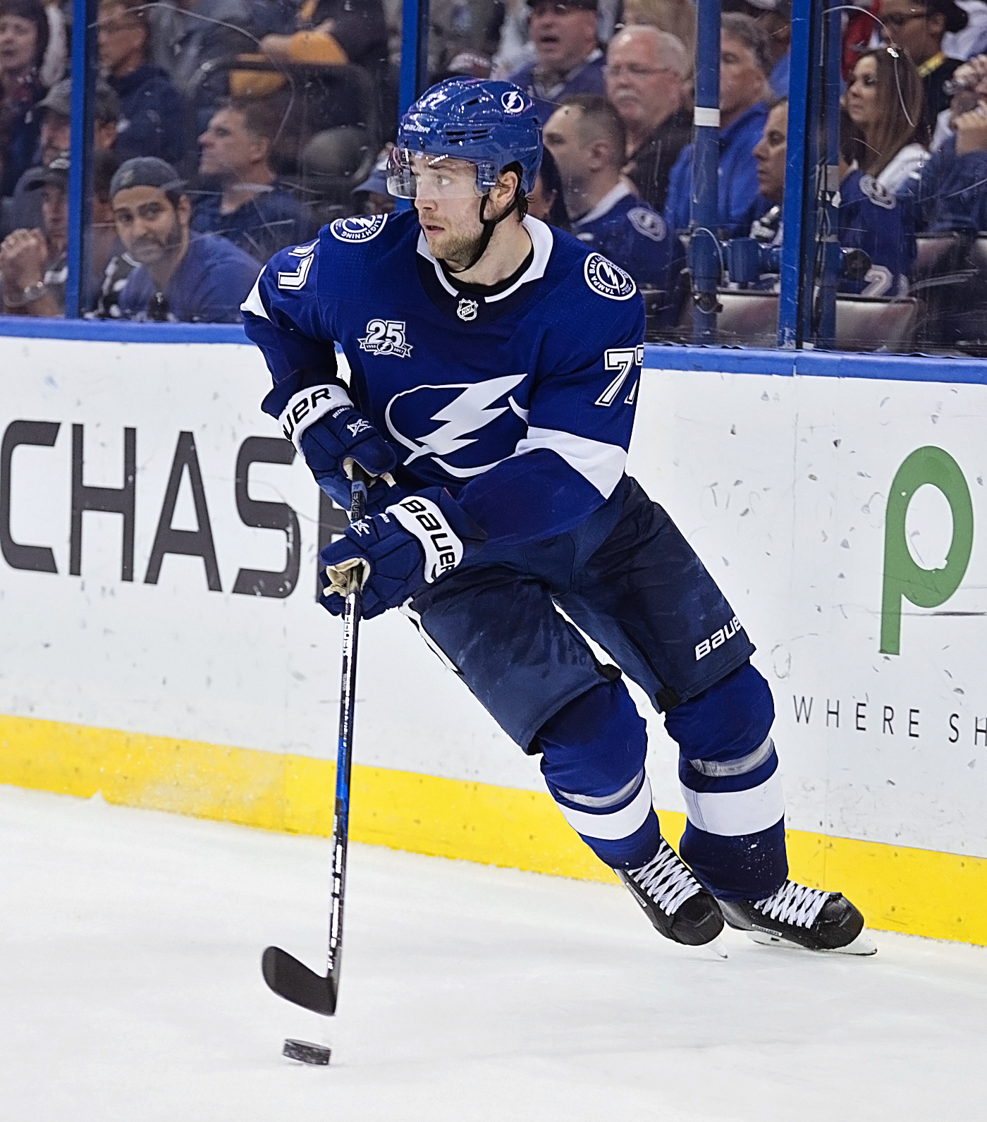 Hedman scored two goals and had two assists./CARMEN MANDATO