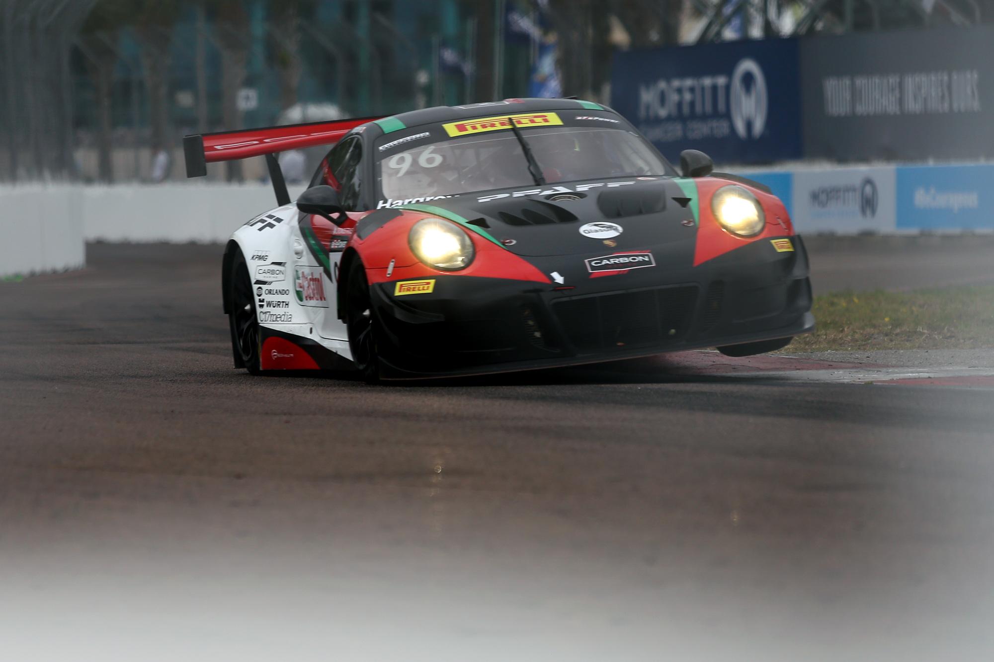#96 Scott Hargrove won a GT race./ANDREW J. KRAMER