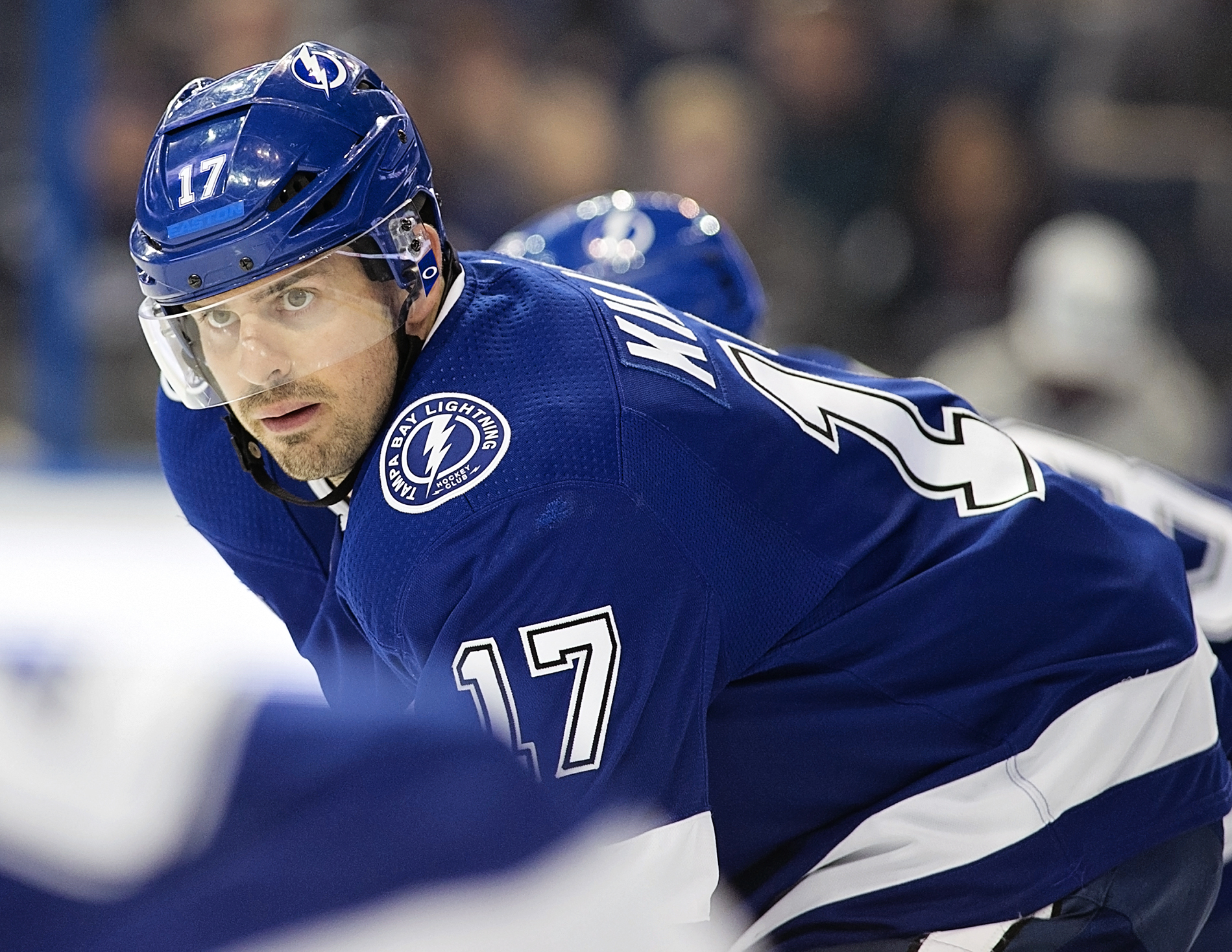 Killorn scored the winning goal in the Lighting's comeback./CARMEN MANDATO