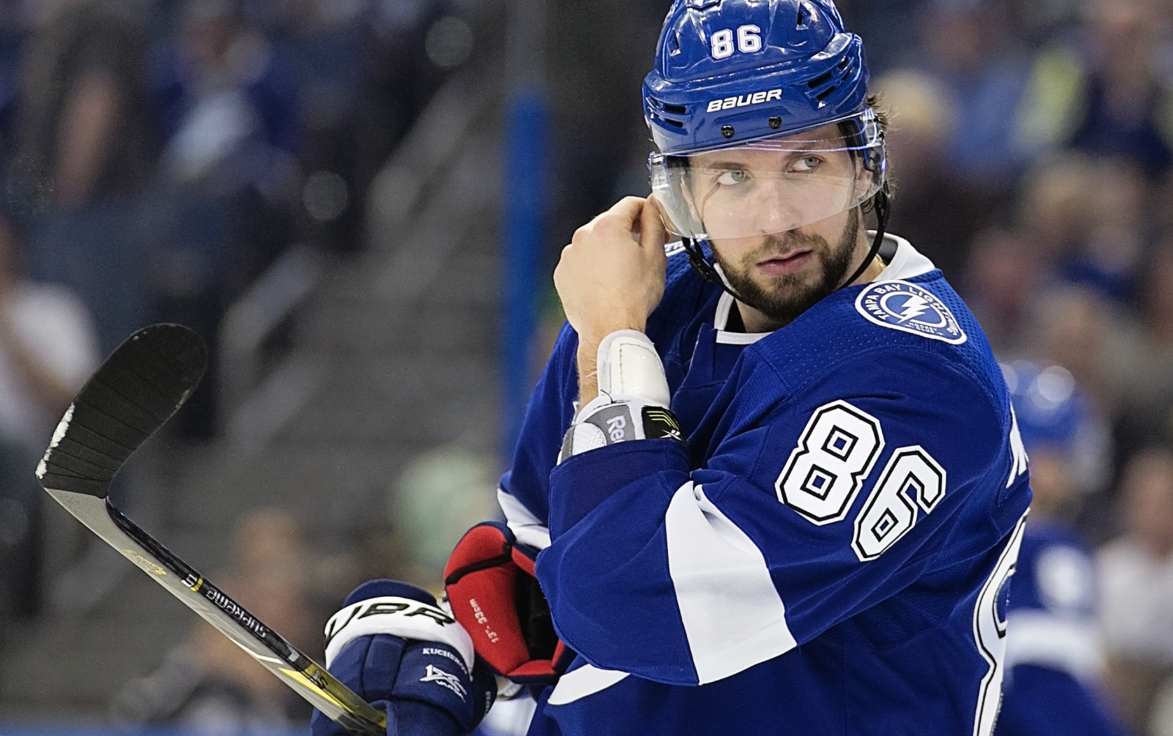 Kucherov needs to play well vs. Leafs./CARMEN MANDATO