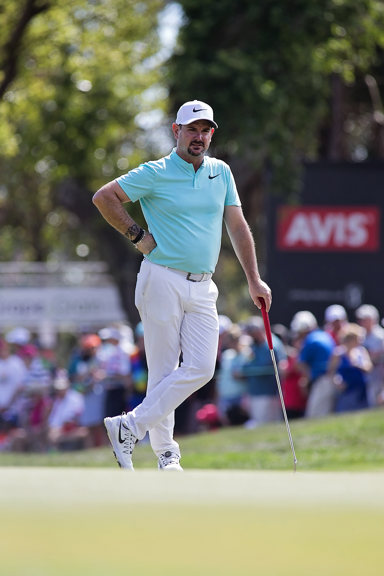 Rory Sabbatini finished in a tie for fifth./CARMEN MANDATO