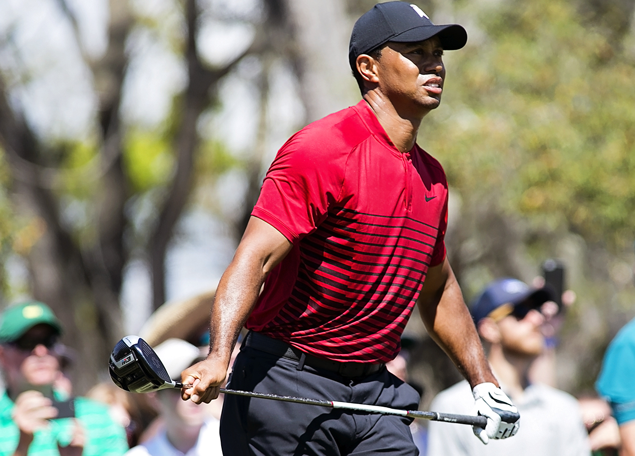 Tiger competed until his next-to-last shot./CARMEN MANDATO