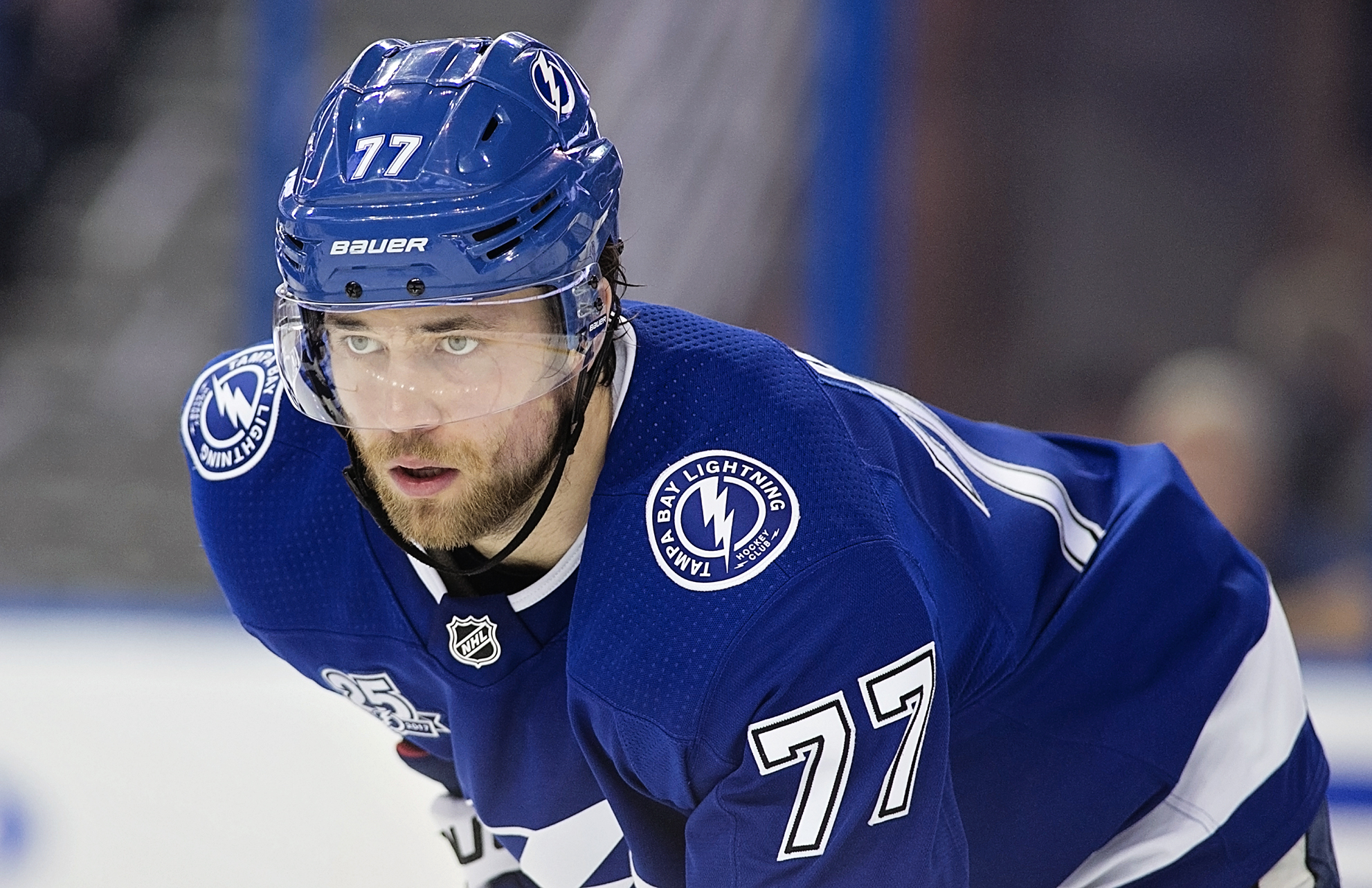 Hedman has anchored an improved defense./CARMEN MANDATO
