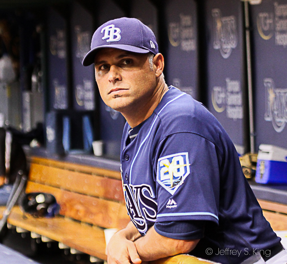 Cash saw the Rays' second-longest game./CARMEN MANDATO