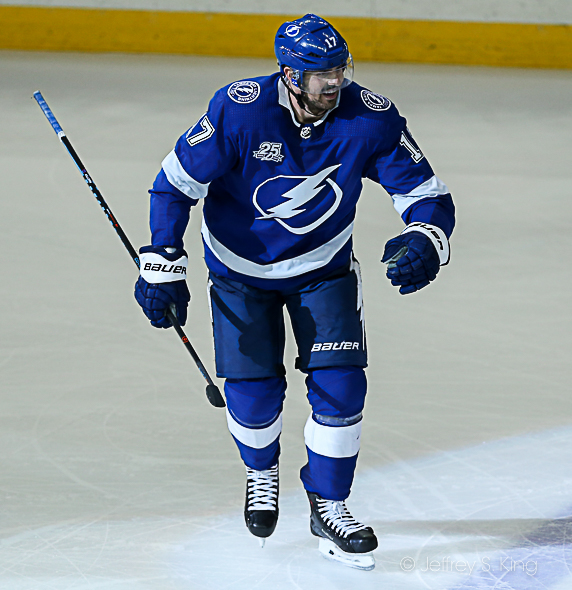 Killorn scored the clinching goal./JEFFREY S. KING