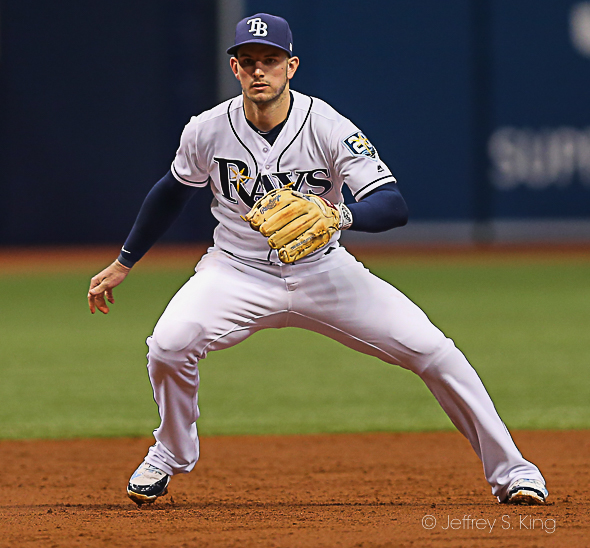 Robertson has played well for Rays./JEFFREY S. KING