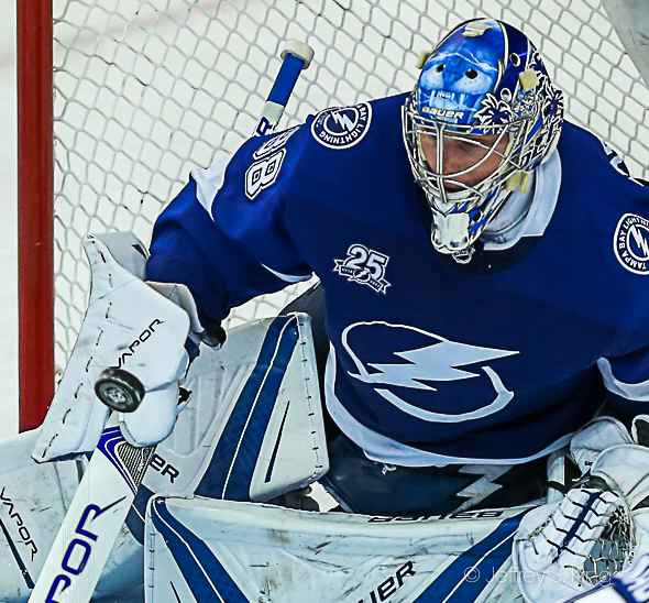 Vasilevskiy must star for the Lighting./JEFFREY S. KING