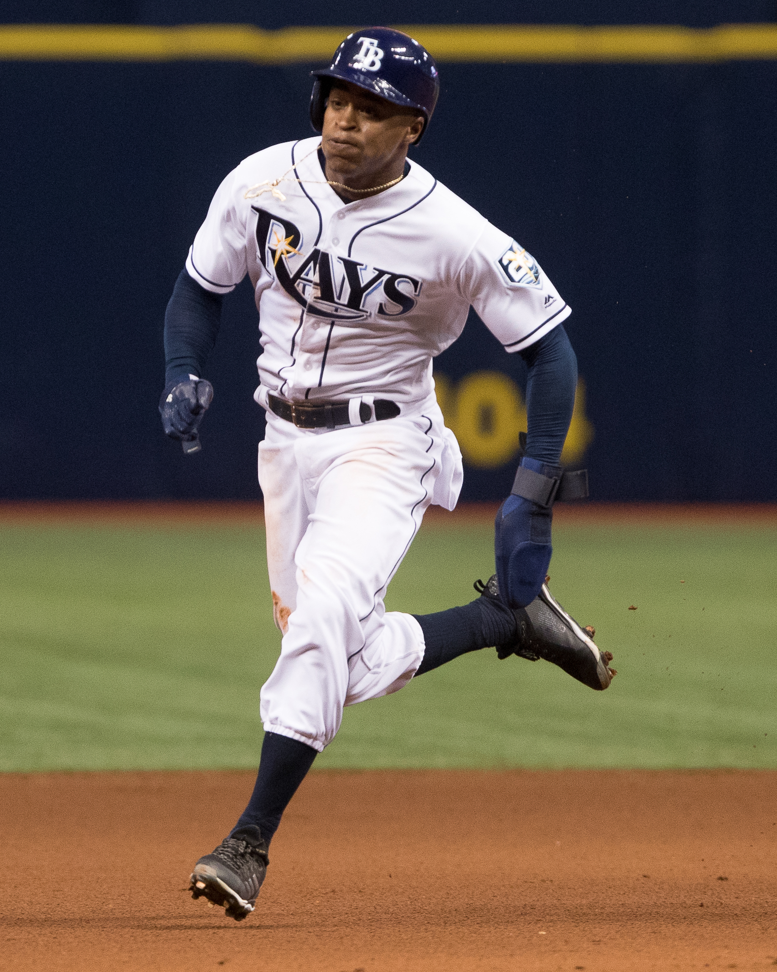 Mallex Smith increased his average to .343./STEVEN MUNCIE