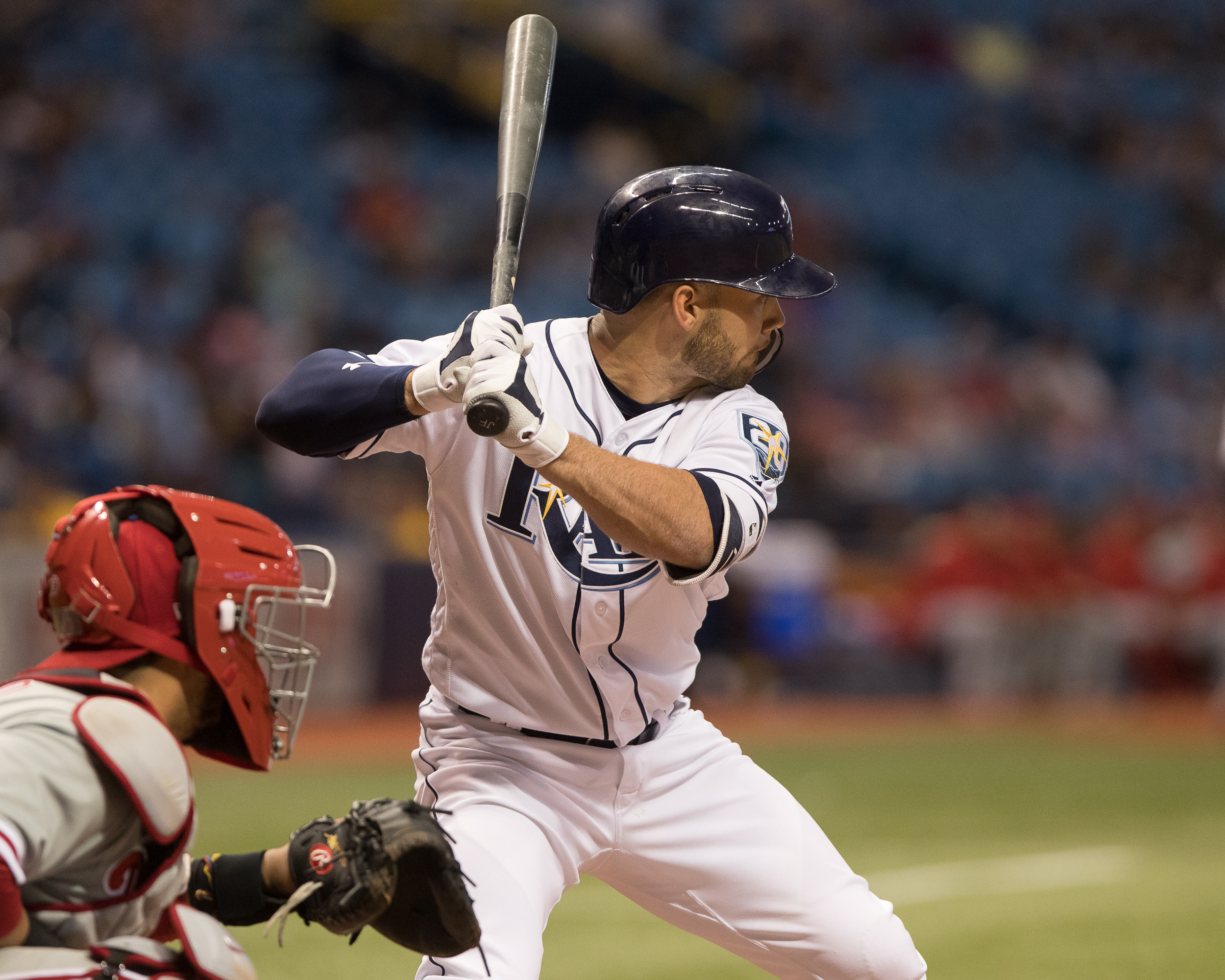 Johnny Field made His MLB Debut./STEVEN MUNCIE