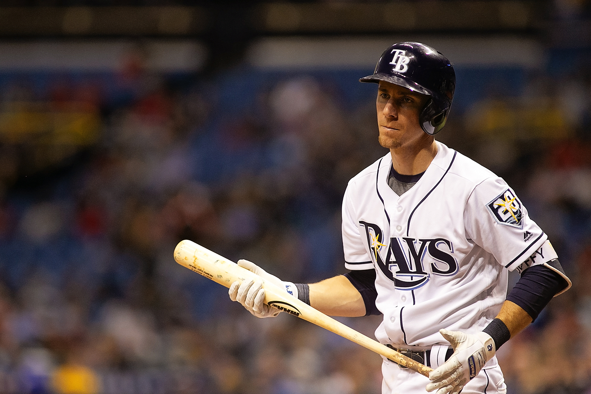 Duffy leads the Rays in batting average./CARMEN MANDATO