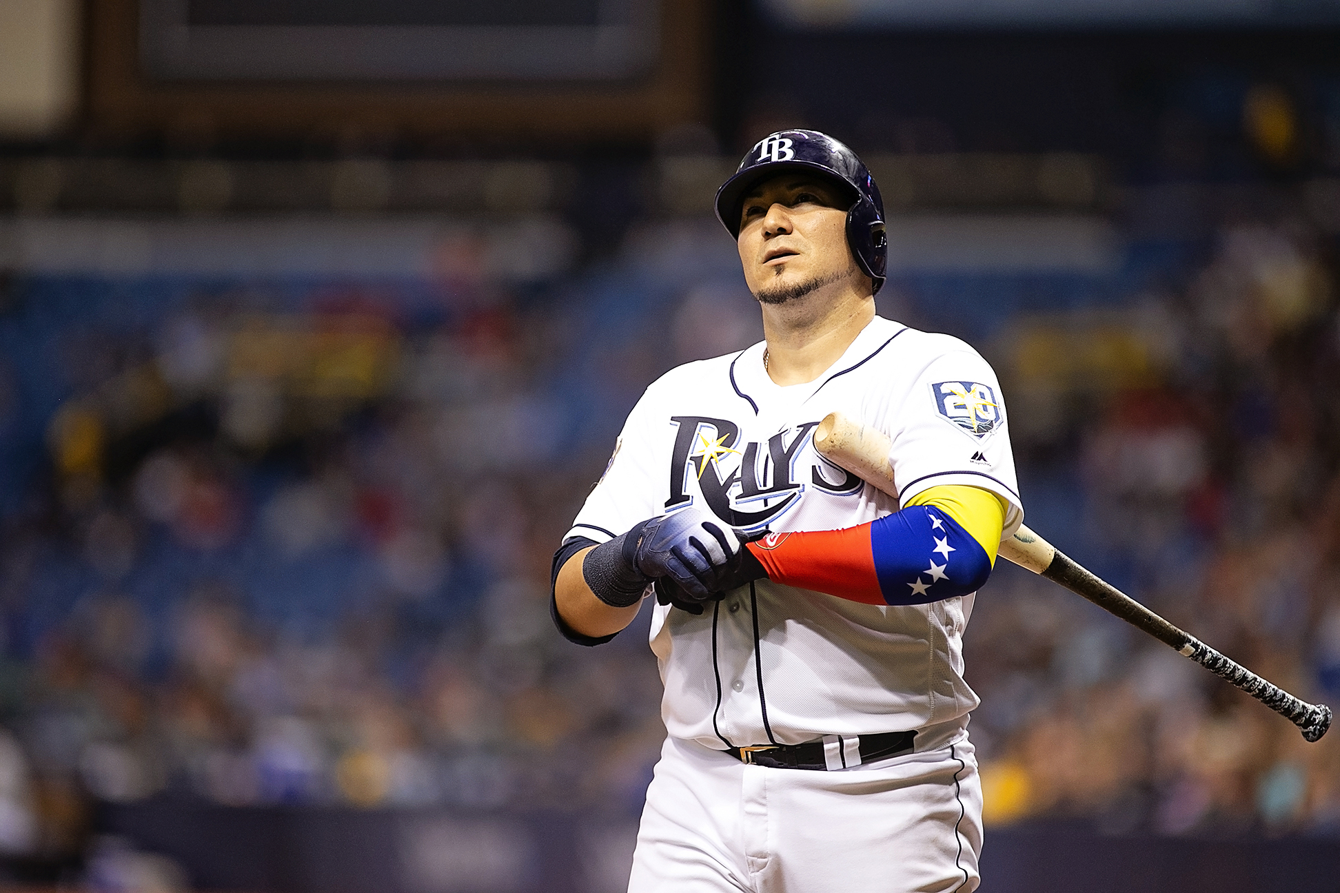 Sucre played well in the Rays' victory./CARMEN MANDATO