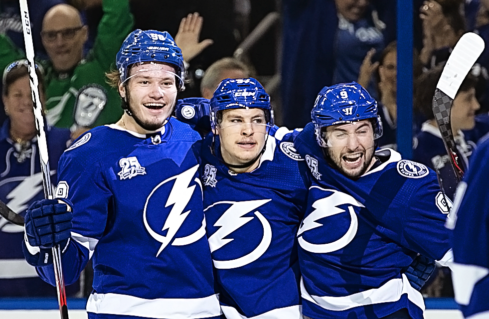 Three newcomers --Sergachev, Point and Guarde -- have sparked the Bolts./CARMEN MANDATO