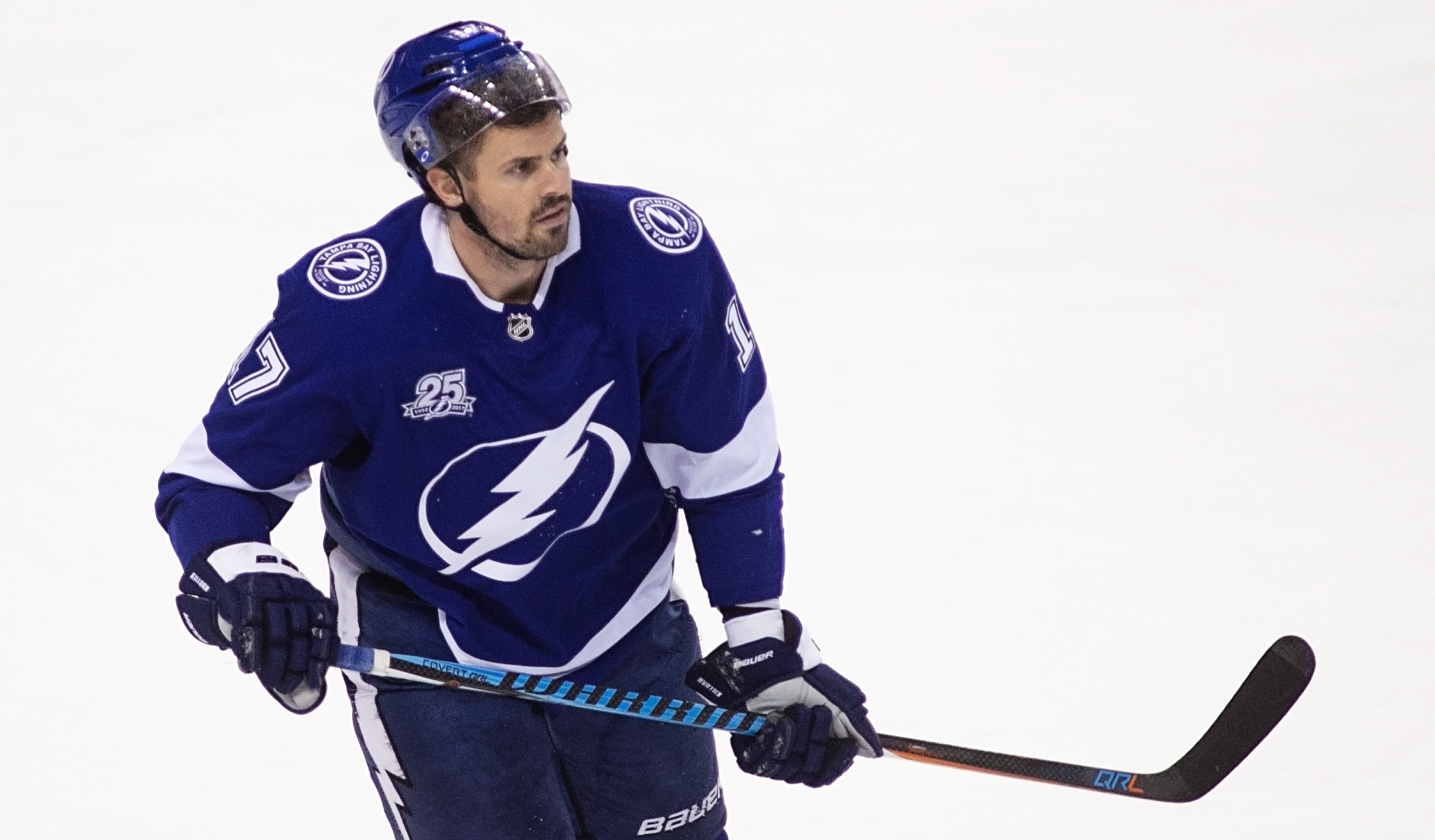 Killorn scored two goals in the Bolts' win./CARMEN MANDATO