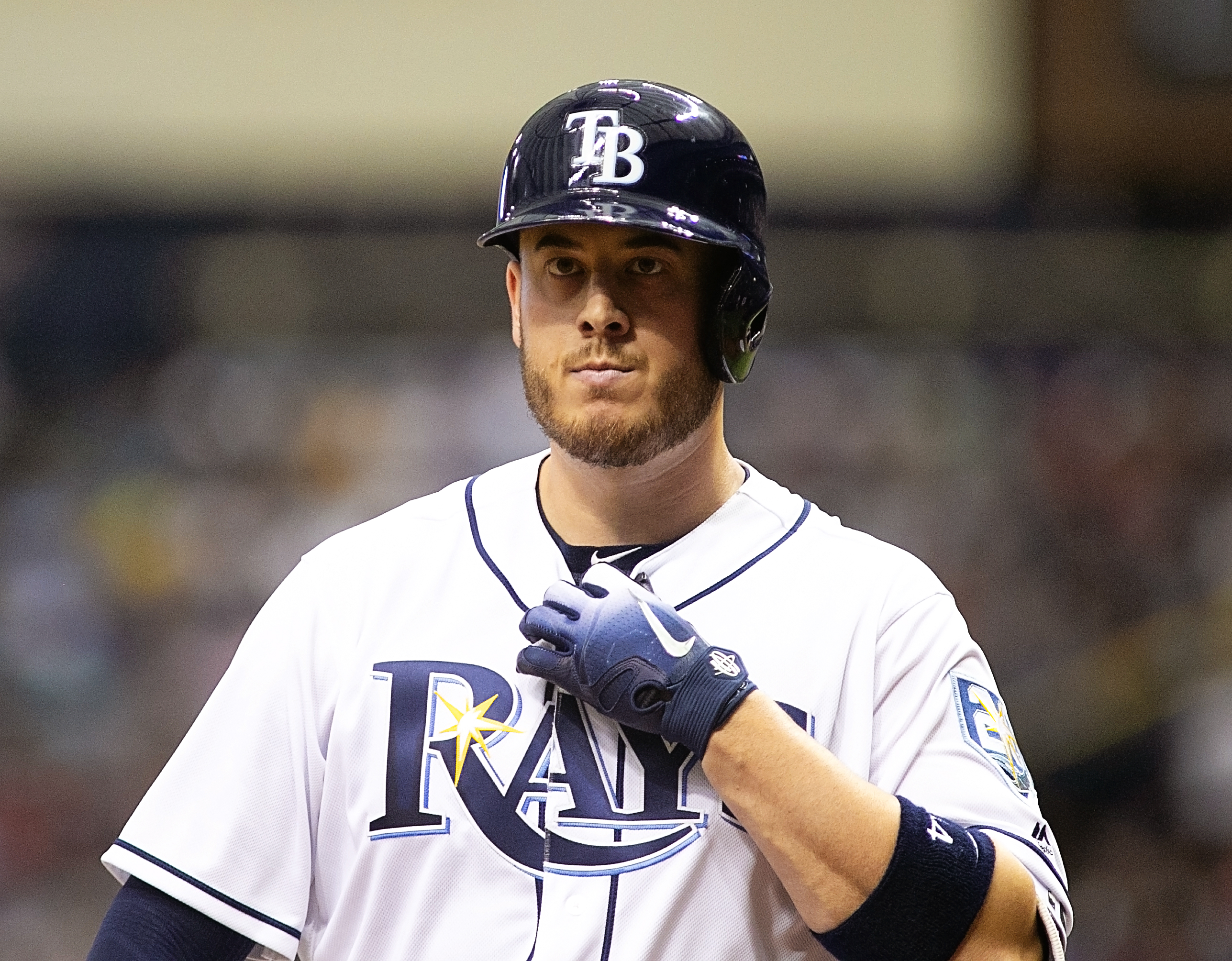 Cron hit is first home run as a Ray./CARMEN MANDATO