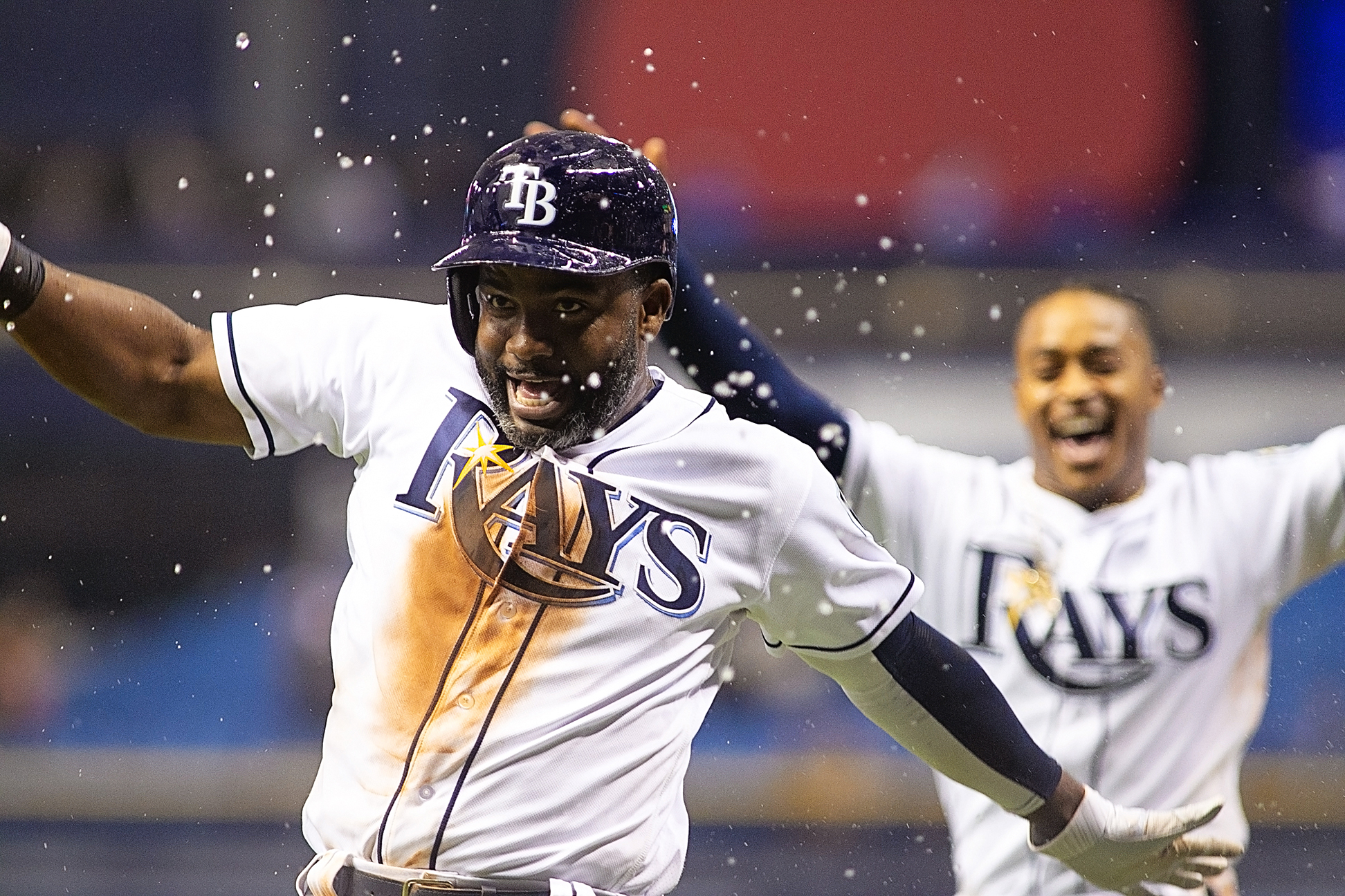 Already, Span is among the Rays' most clutch players./CARMEN MANDATO