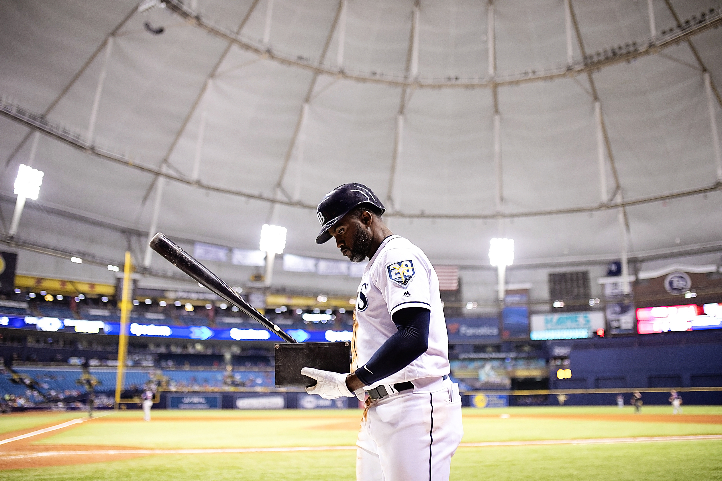 Span knocked in two with a home run./CARMEN MANDATO
