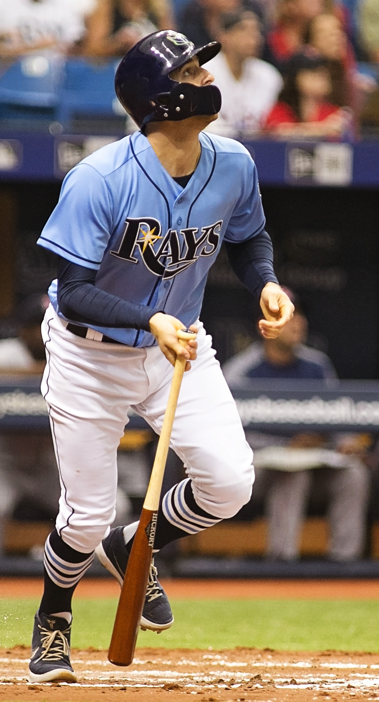 Miller gave the Rays their early lead./CARMEN MANDATO