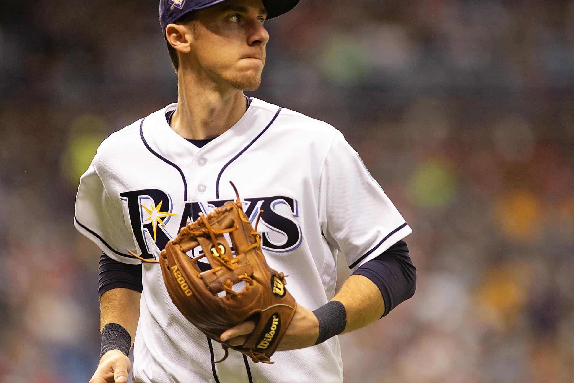 Duffy had three hits for the Rays./CARMEN MANDATO