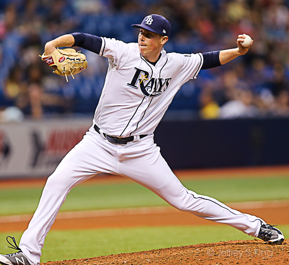 Yarbrough pitched five innings of one-hit baseball./JEFFREY S. KING