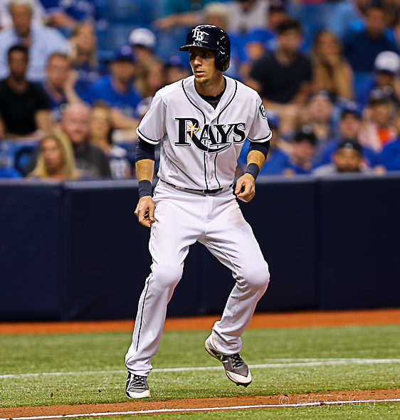 Duffy had three hits for the Rays./JEFFREY S. KING