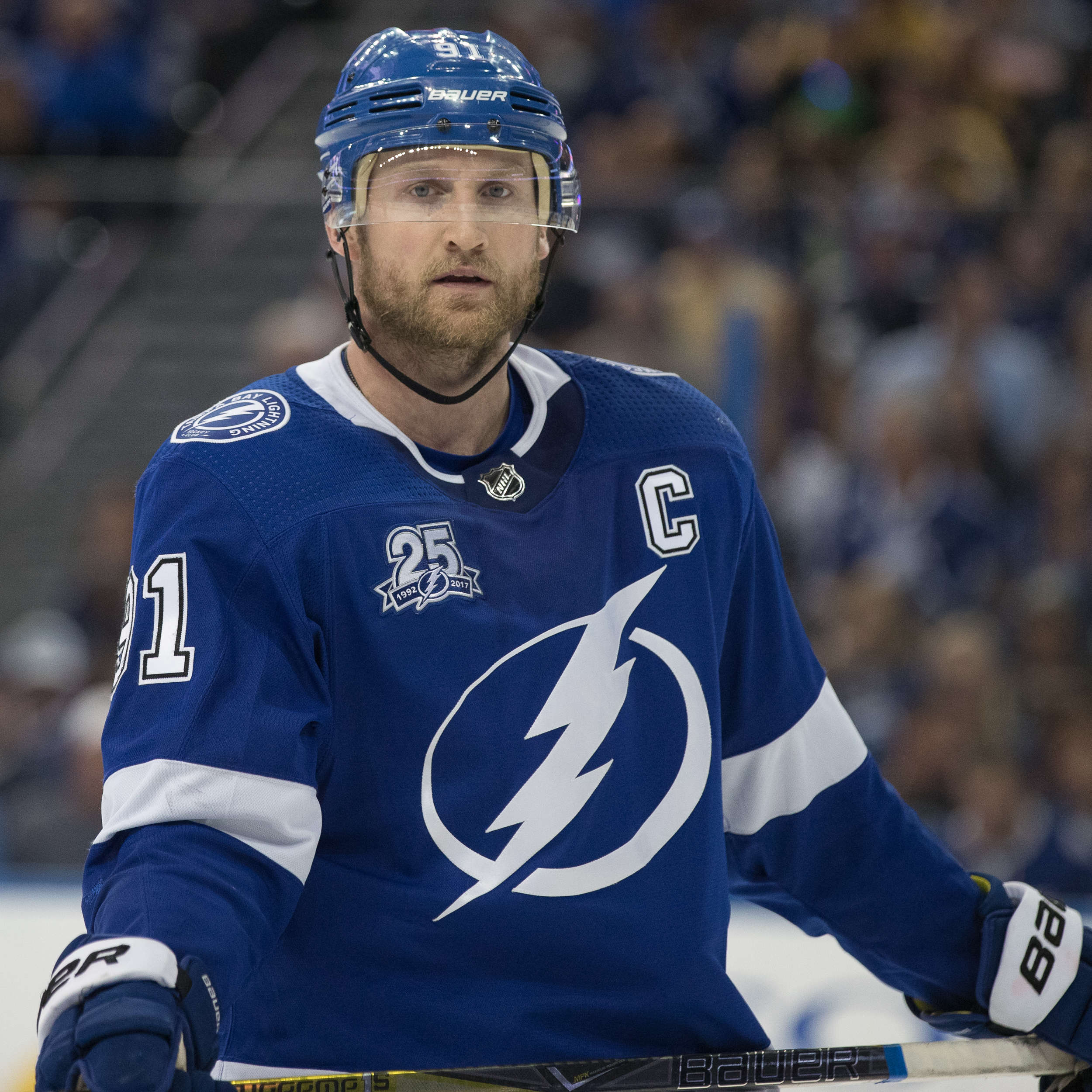 Steven Stamkos says the defensive commitment paid off./STEVEN MUNCIE