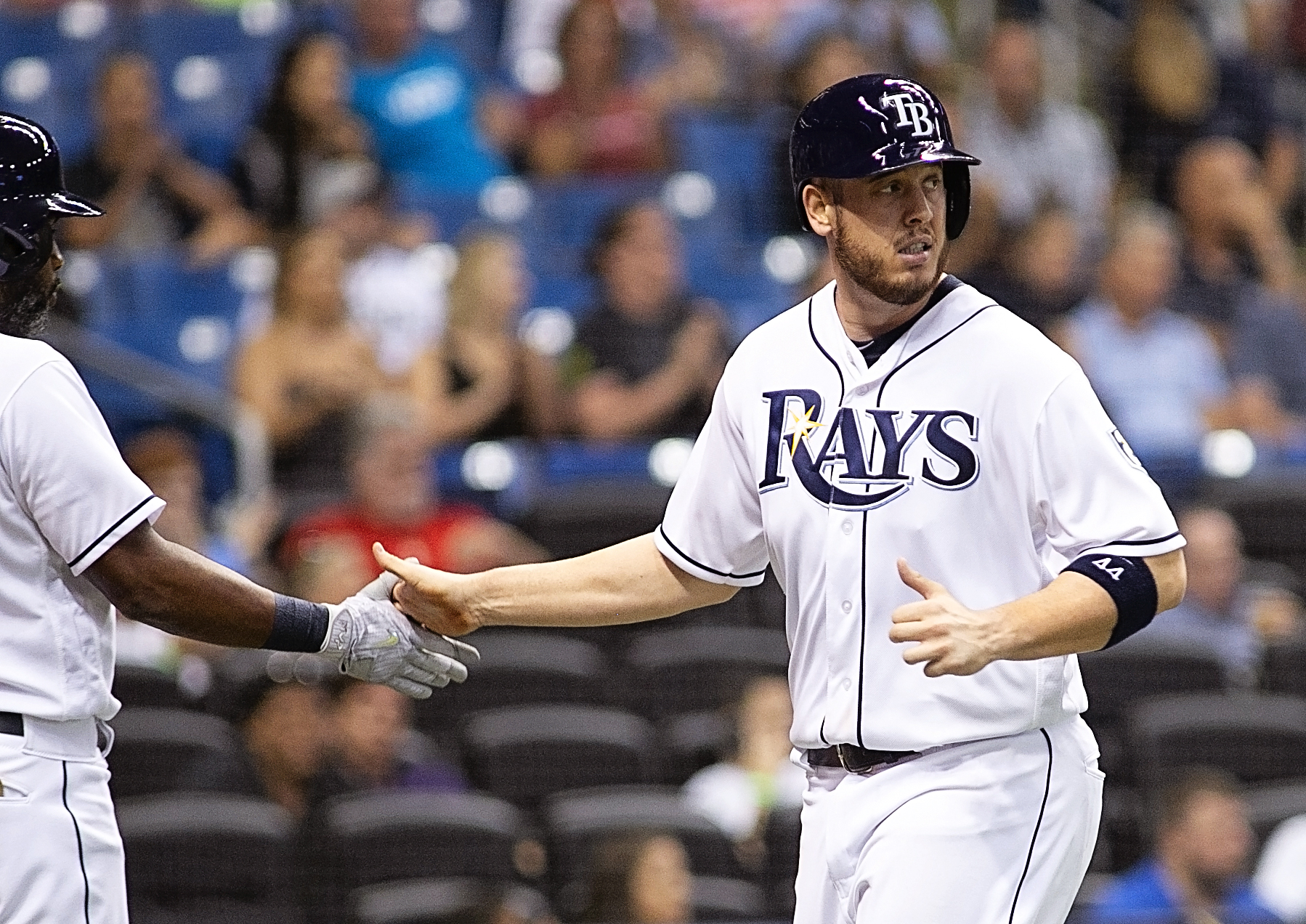 Cron hit his 17th homer, a personal best./CARMEN MANDATO