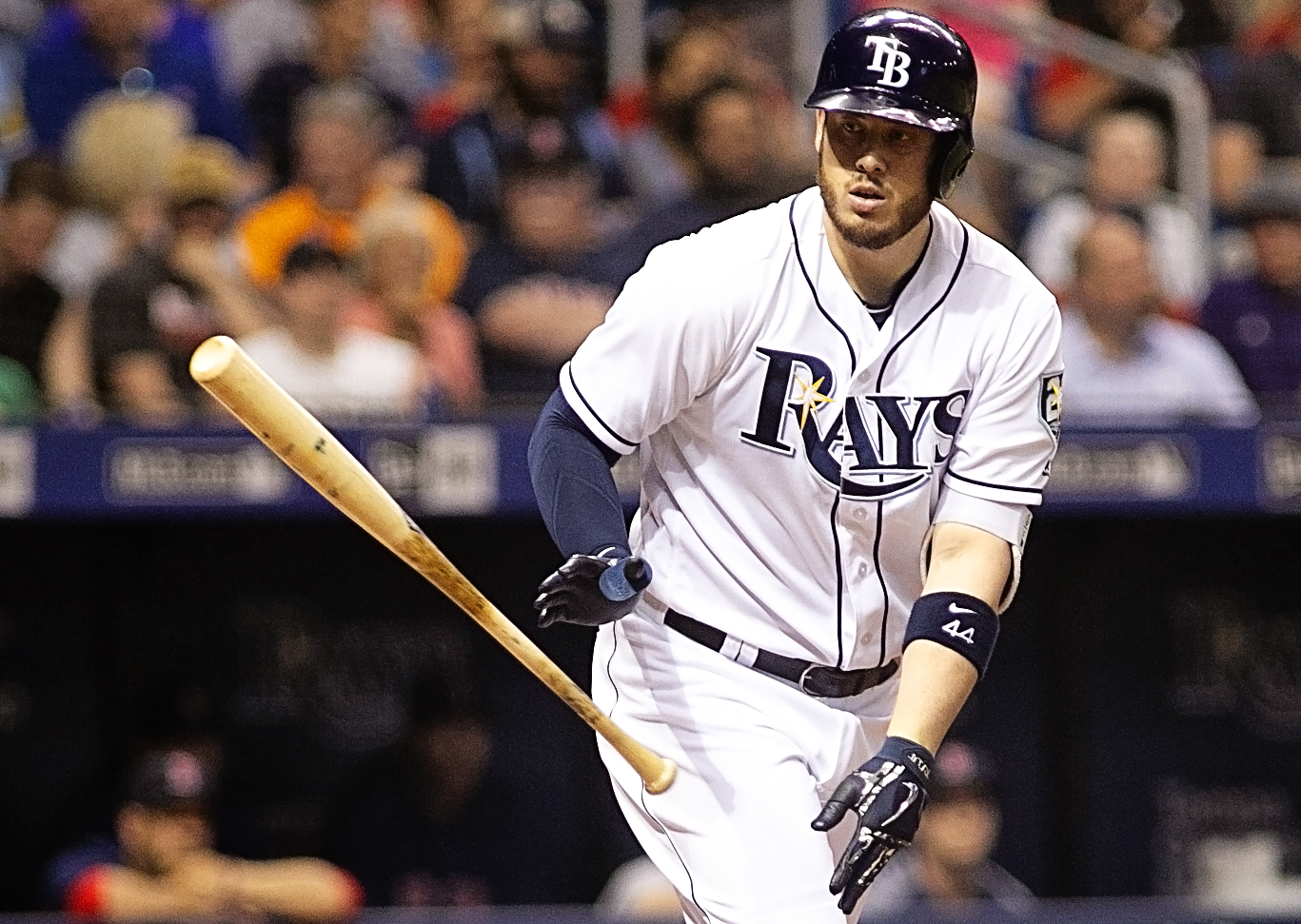 Cron leads the Rays in home runs./CARMEN MANDATO