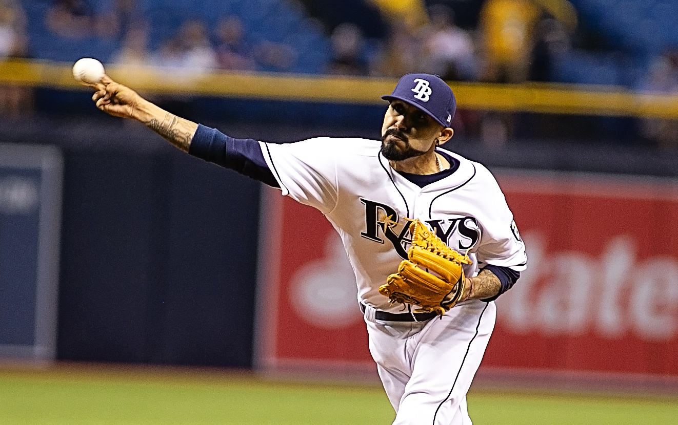The Rays couldn't wait to pitch Romo./JEFFREY S. KING