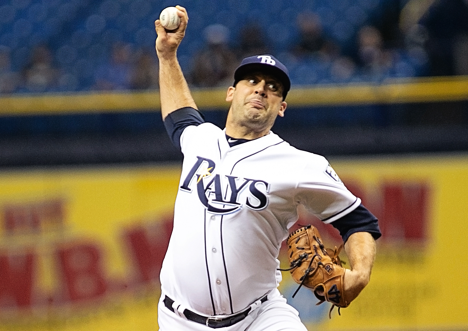 Kittredge also gave up three runs for Rays./JEFFREY S. KING