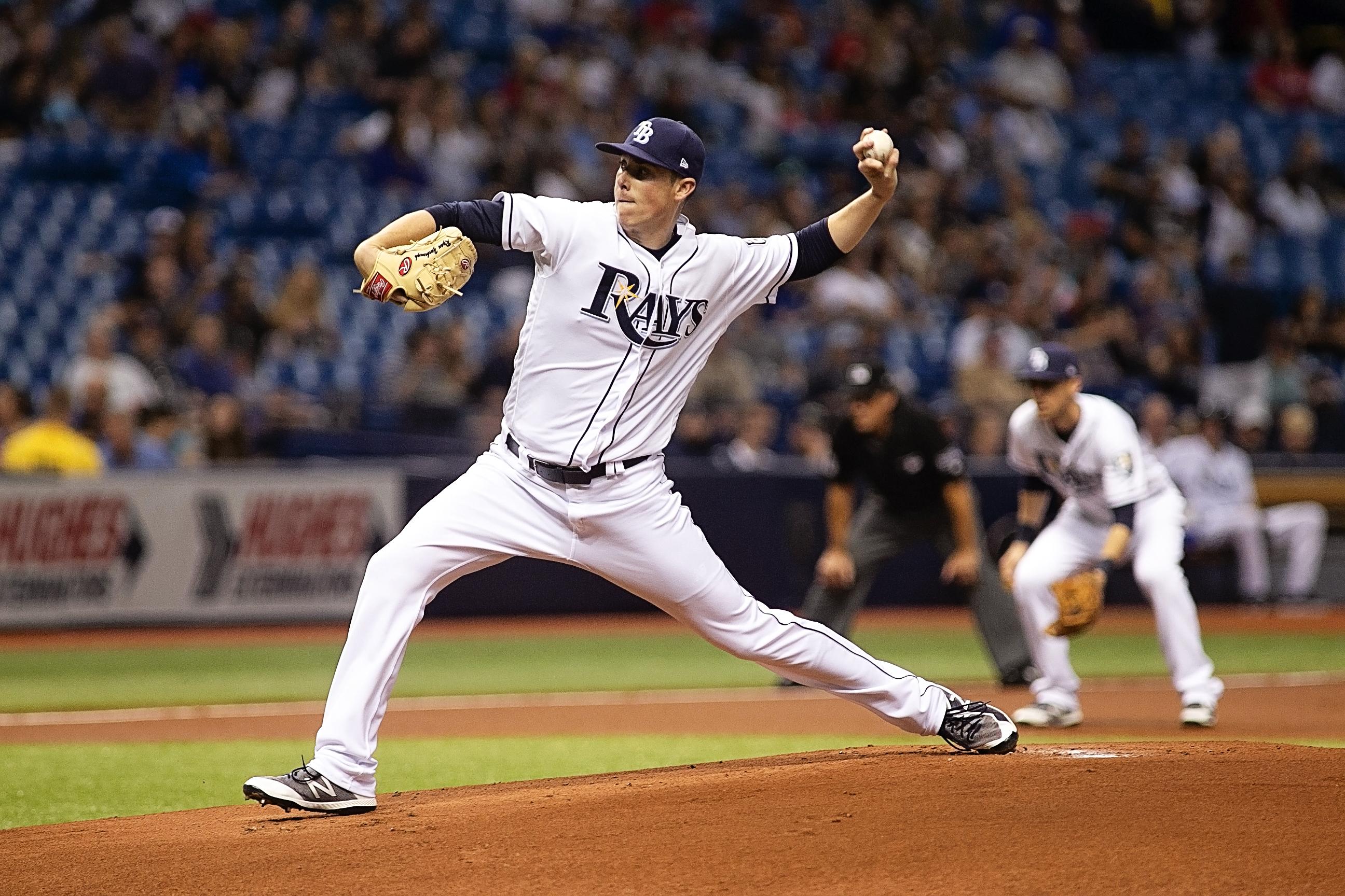 Yarbrough game up four runs in the third inning./CARMEN MANDATO