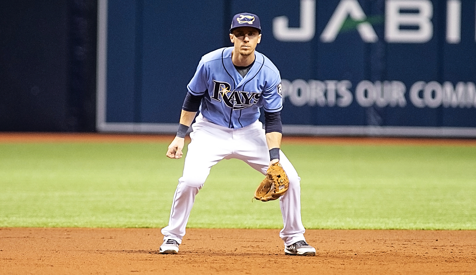 Duffy had two hits for the Rays./CARMEN MANDATO