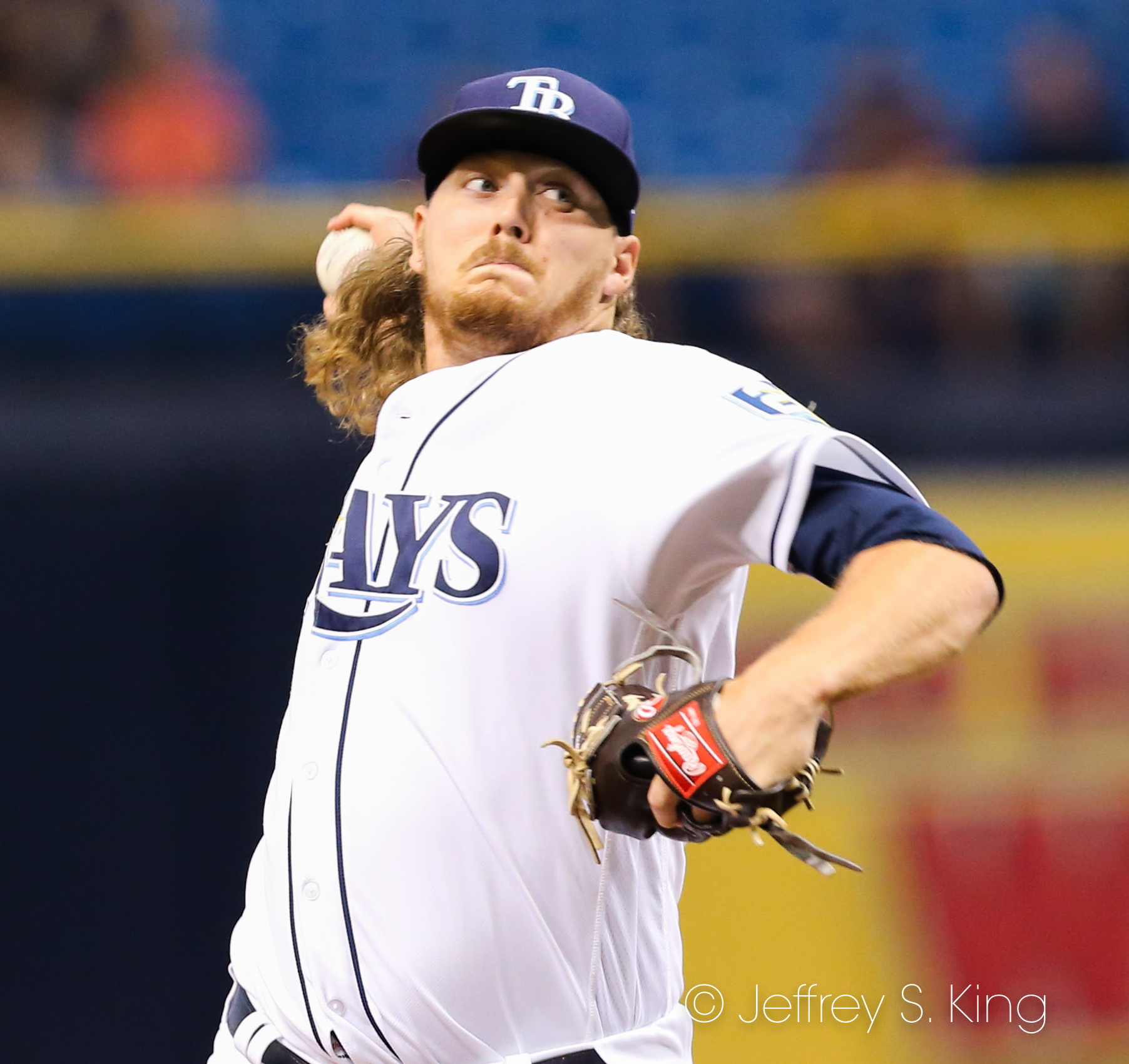 Stanek started for the Rays./JEFFREY S. KING