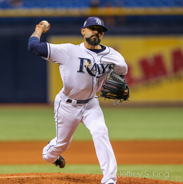 Romo earned his second save of the season./JEFFREY S. KING