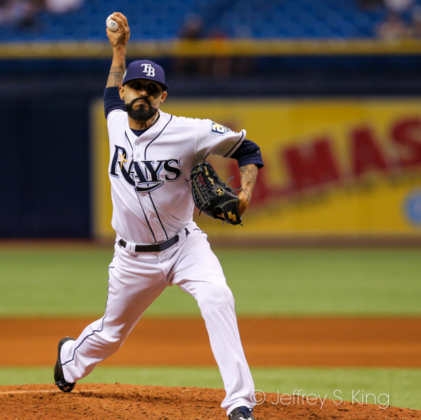 Romo gave up a two-run double in the ninth./CARMEN MANDATO